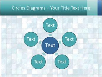 Blue Pixel PowerPoint Template - Slide 78