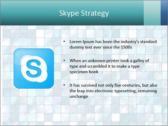 Blue Pixel PowerPoint Template - Slide 8