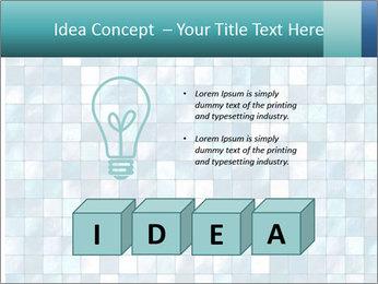Blue Pixel PowerPoint Template - Slide 80