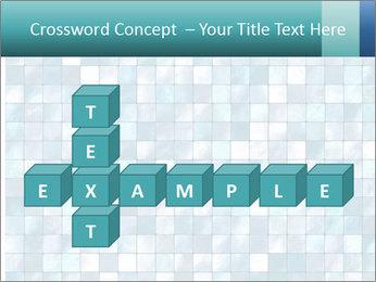 Blue Pixel PowerPoint Template - Slide 82