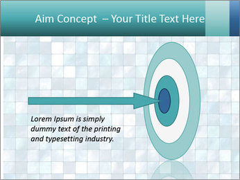 Blue Pixel PowerPoint Template - Slide 83