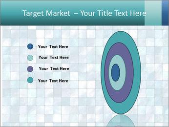 Blue Pixel PowerPoint Template - Slide 84
