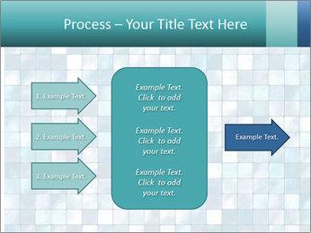 Blue Pixel PowerPoint Template - Slide 85