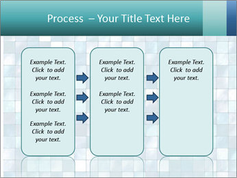 Blue Pixel PowerPoint Template - Slide 86