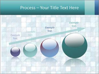 Blue Pixel PowerPoint Template - Slide 87