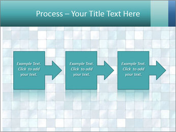 Blue Pixel PowerPoint Template - Slide 88