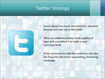 Blue Pixel PowerPoint Template - Slide 9