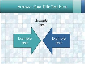Blue Pixel PowerPoint Template - Slide 90