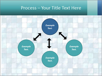 Blue Pixel PowerPoint Template - Slide 91