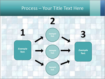 Blue Pixel PowerPoint Template - Slide 92