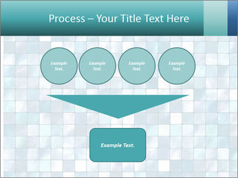 Blue Pixel PowerPoint Template - Slide 93