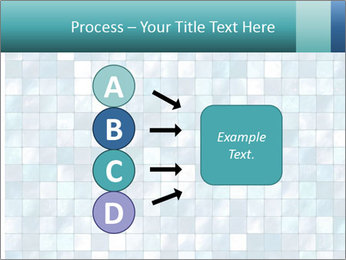 Blue Pixel PowerPoint Template - Slide 94