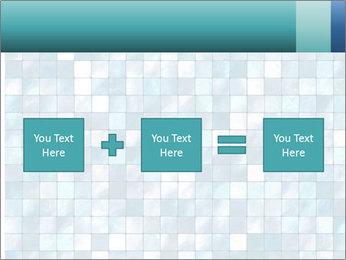 Blue Pixel PowerPoint Template - Slide 95