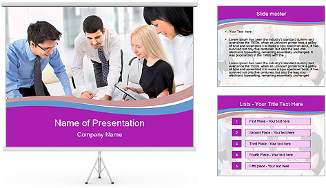 Executive Team PowerPoint Template
