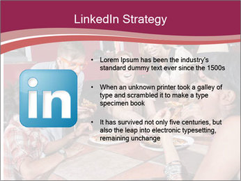 Friends At Restaurant PowerPoint Templates - Slide 12