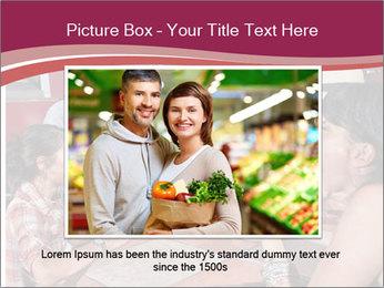 Friends At Restaurant PowerPoint Templates - Slide 16