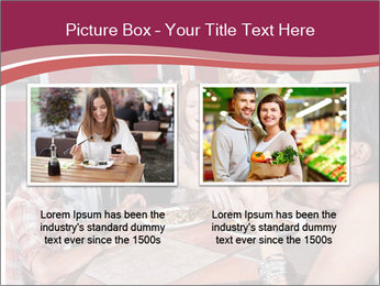 Friends At Restaurant PowerPoint Templates - Slide 18