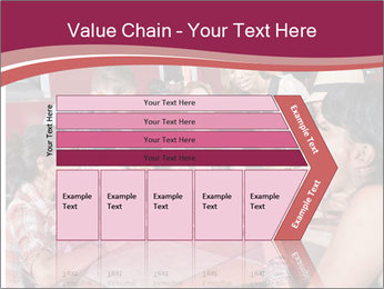 Friends At Restaurant PowerPoint Templates - Slide 27