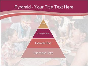 Friends At Restaurant PowerPoint Templates - Slide 30