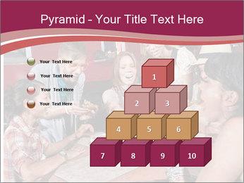 Friends At Restaurant PowerPoint Templates - Slide 31