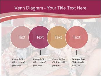 Friends At Restaurant PowerPoint Templates - Slide 32