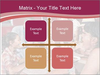 Friends At Restaurant PowerPoint Templates - Slide 37