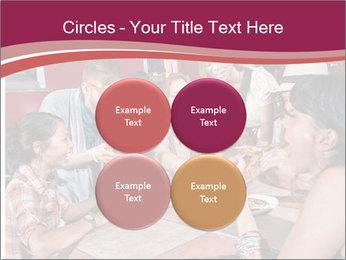 Friends At Restaurant PowerPoint Templates - Slide 38