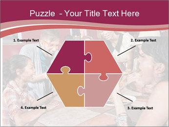 Friends At Restaurant PowerPoint Templates - Slide 40