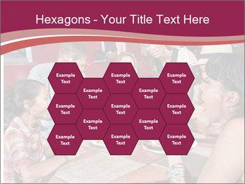 Friends At Restaurant PowerPoint Templates - Slide 44