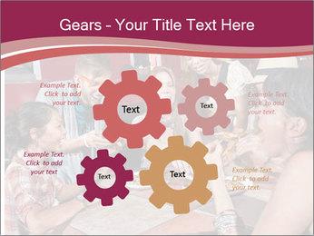 Friends At Restaurant PowerPoint Templates - Slide 47