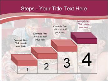 Friends At Restaurant PowerPoint Templates - Slide 64
