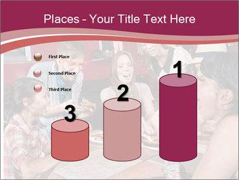 Friends At Restaurant PowerPoint Templates - Slide 65