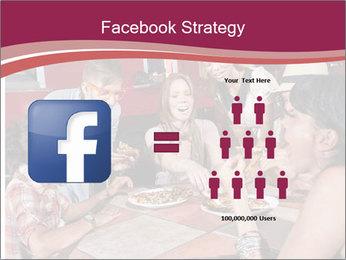 Friends At Restaurant PowerPoint Templates - Slide 7