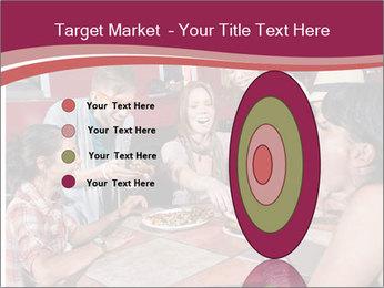Friends At Restaurant PowerPoint Templates - Slide 84