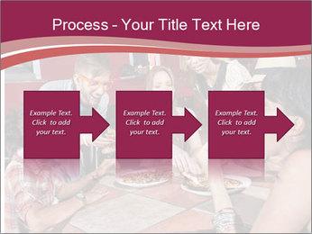 Friends At Restaurant PowerPoint Templates - Slide 88
