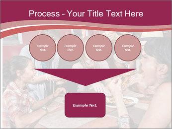 Friends At Restaurant PowerPoint Templates - Slide 93