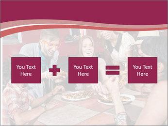 Friends At Restaurant PowerPoint Templates - Slide 95