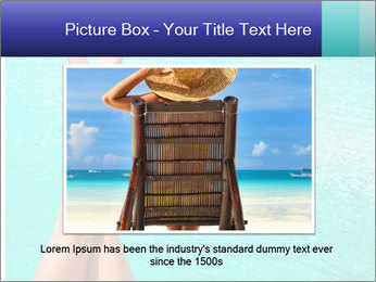 Tanned Female Legs PowerPoint Template - Slide 15