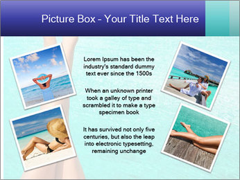 Tanned Female Legs PowerPoint Template - Slide 24