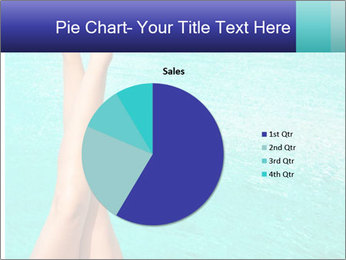 Tanned Female Legs PowerPoint Template - Slide 36
