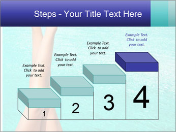 Tanned Female Legs PowerPoint Template - Slide 64