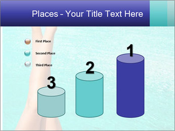 Tanned Female Legs PowerPoint Template - Slide 65