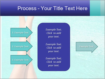 Tanned Female Legs PowerPoint Template - Slide 85