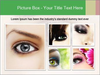 Female Eye PowerPoint Template - Slide 19