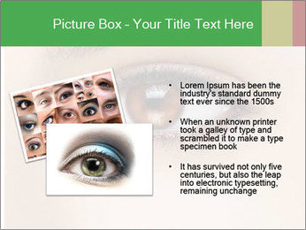 Female Eye PowerPoint Template - Slide 20