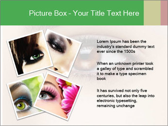 Female Eye PowerPoint Template - Slide 23