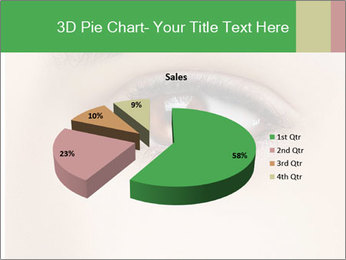 Female Eye PowerPoint Template - Slide 35