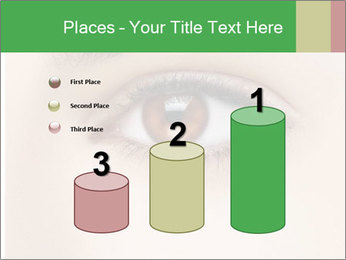 Female Eye PowerPoint Template - Slide 65