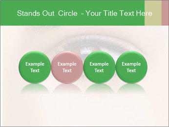 Female Eye PowerPoint Template - Slide 76