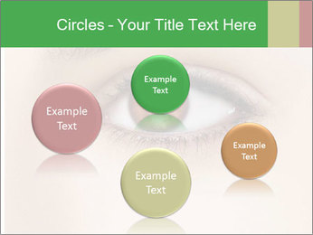 Female Eye PowerPoint Template - Slide 77